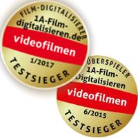 1a film digitalisieren ist wiederholt Testsieger